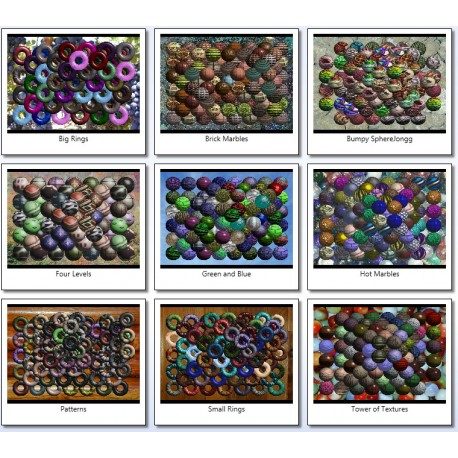Rings & Spheres GamePack
