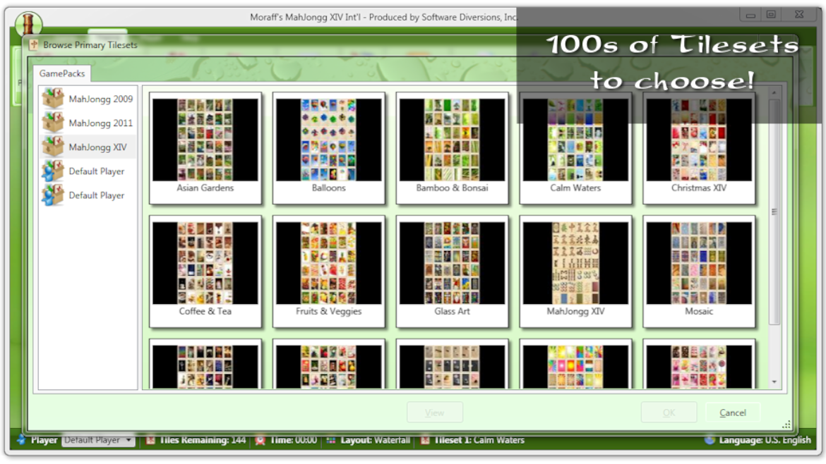 100s of Tilesets Available